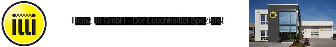 Heinz Illi GmbH - Der Leuchtmittel-Spezialist Logo